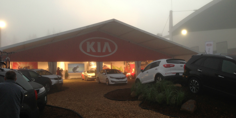Kia Motors NZ at the 2014 National Fieldays