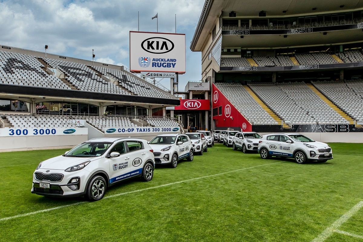 Kia teams up with Auckland Rugby