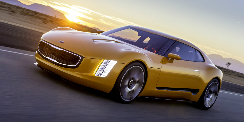 Kia Surprises With A Powerful GT Sports Car New SUVs Hybrids - Powerful sports cars