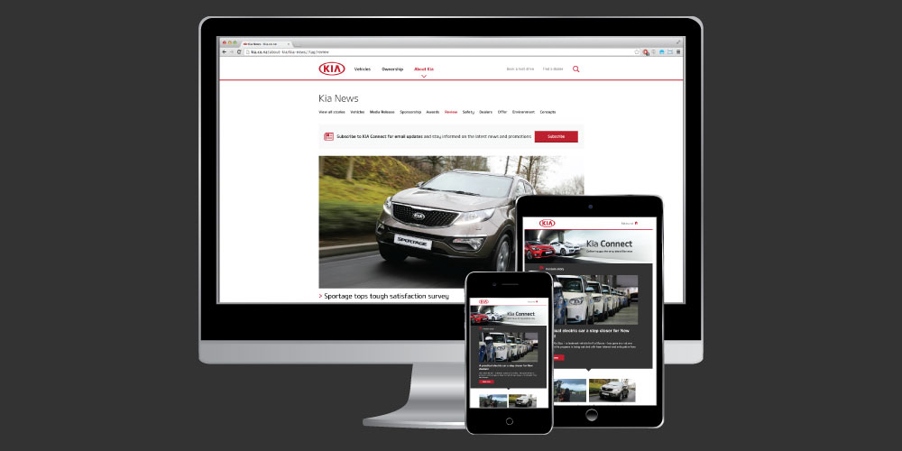 Launching our new online Kia Connect