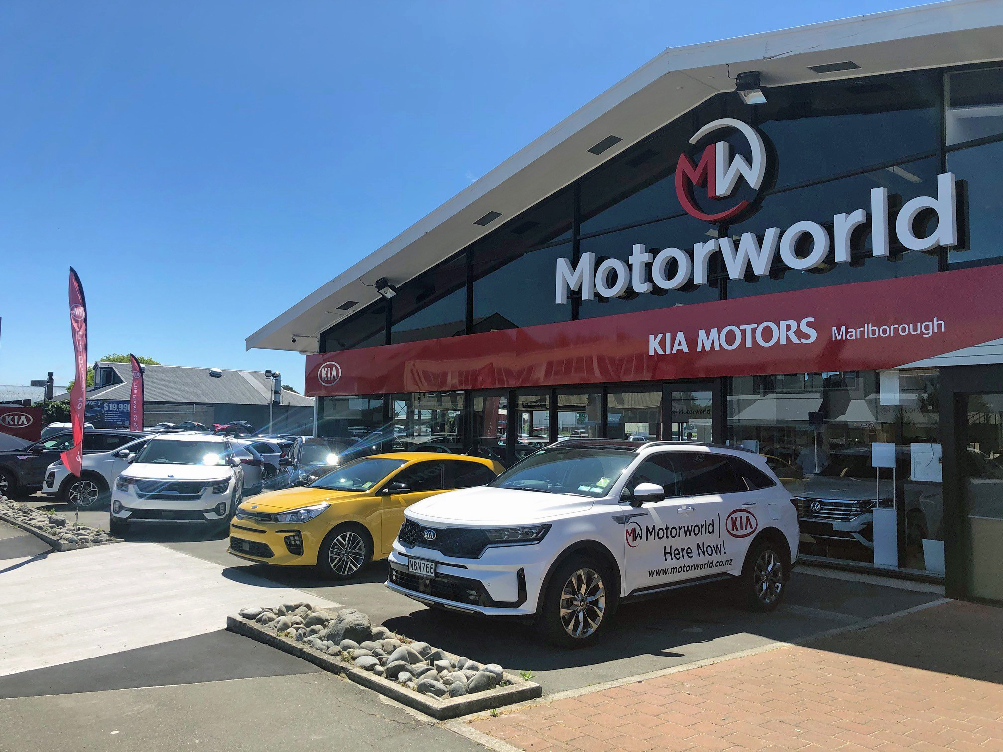 New Kia dealer opens in Blenheim
