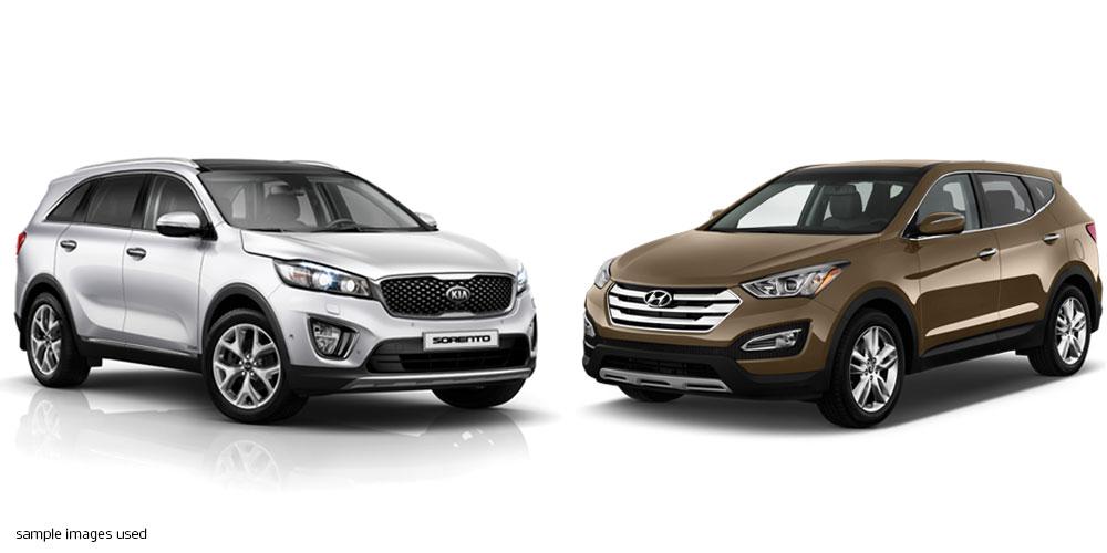Sorento vs Santa Fe Comparison · Kia Motors New Zealand | Kia.com/NZ