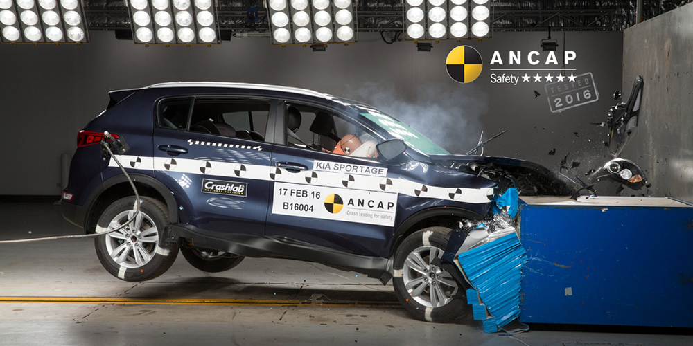 Exceptional Kia Sportage First SUV To Achieve 2016 ANCAP Safety Rating